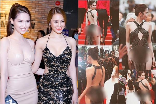 """Đúng là """"chị em tốt"""", Ngọc Trinh vừa gặp """"bão"""" ở Cannes, Linh Chi ở nhà đã đăng đàn đầy ẩn ý"""