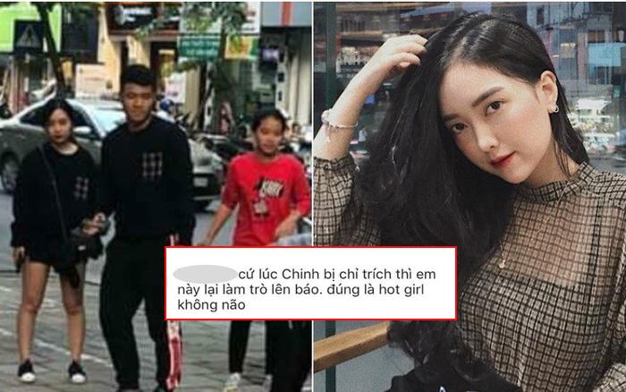 """Bạn gái Đức Chinh bị dân mạng chỉ trích """"đúng là hot girl không não"""" sau khi đăng ảnh thân mật của cả hai lên Instagram"""