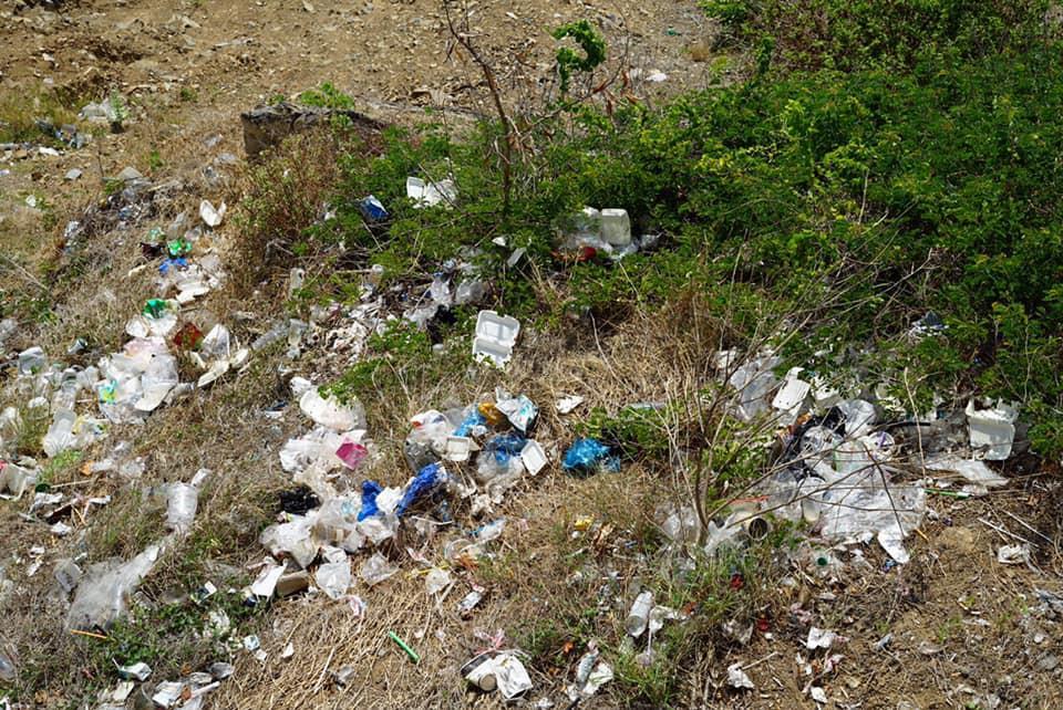 Ảnh 4: Nhóm bạn trẻ đu dây dọn rác - We25.vn