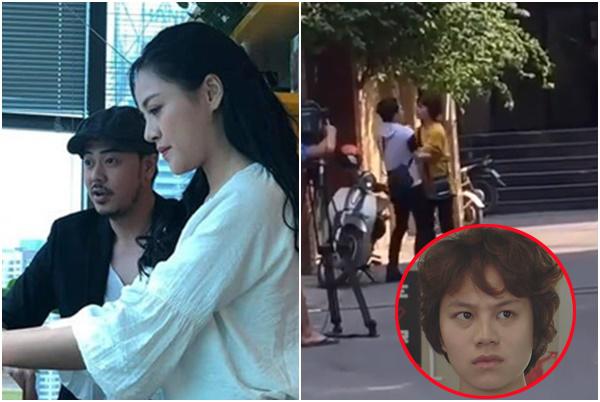"""Hậu trường """"Về nhà đi con"""" tiết lộ: Dương crush bố đẹp trai của Bảo, tranh giành tình yêu với chị Huệ?"""