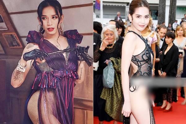 """Học đòi Ngọc Trinh mặc váy lưới, BB Trần bị fan nghi ngờ không mặc """"bảo hộ"""", chơi lớn hơn cả bản gốc"""