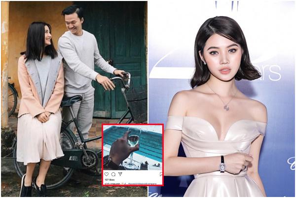"""Nghi vấn Hoa hậu nhà giàu Jolie nguyễn """"cướp"""" người yêu Diễm My 9x, ngang nhiên đăng ảnh?"""