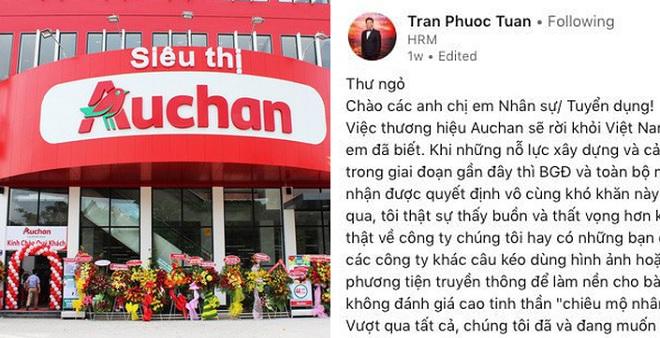 Siêu thị bị phá tan hoang, Auchan vẫn nỗ lực tìm cơ hội việc làm cho nhân viên trước khi rời Việt Nam