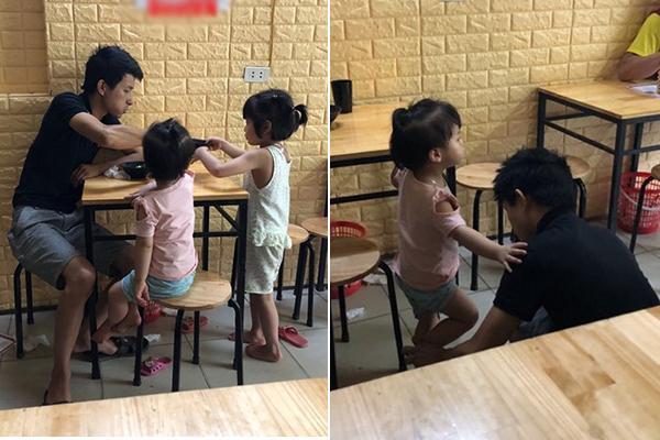 """Đưa 2 con gái đi ăn chè, nhận được câu hỏi: """"Sao bố không cho mẹ đi cùng"""" và câu trả lời cảm động của ông bố"""