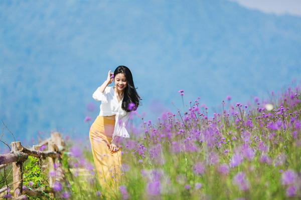 """Check-in triền hoa tím đẹp như Provence ở Sapa này, biết đâu bạn """"khi đi lẻ bóng khi về có đôi"""""""