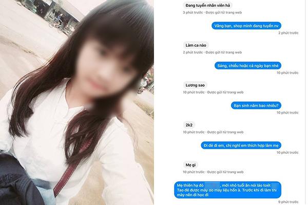 """Nhắn trống không """"tuyển nhân viên hả, lương sao"""", cô gái 2k2 bị nhà tuyển dụng mắng """"sấp mặt"""" vì thái độ """"mẹ thiên hạ"""""""