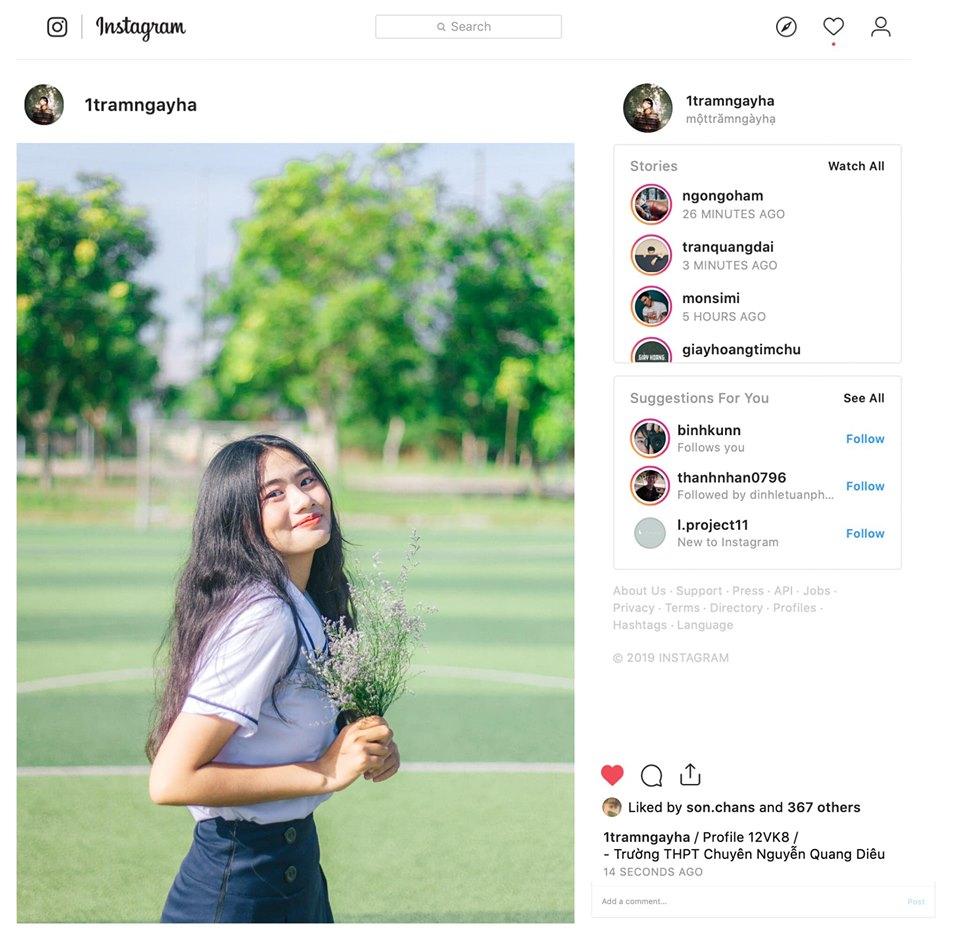 Ảnh 2: Instagram riêng để lưu ảnh kỷ yếu - We25.vn