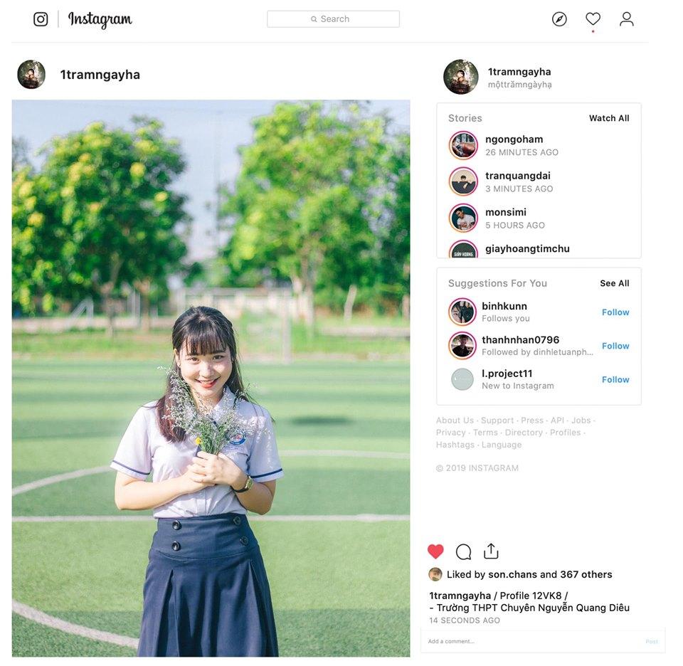 Ảnh 3: Instagram riêng để lưu ảnh kỷ yếu - We25.vn