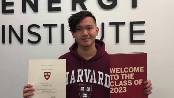 Nam sinh gốc Việt trúng tuyển vào ĐH Harvard dù sống vô gia cư từ năm 17 tuổi