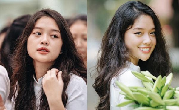 """Khóc vẫn đẹp ngày bế giảng, nhan sắc nữ sinh trường Việt Đức lộ nhiều nét """"cực phẩm"""""""