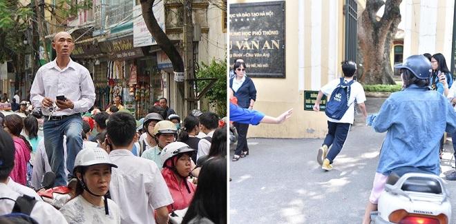 Những khoảnh khắc đẹp của kỳ thi vào lớp 10 năm 2019 tại Hà Nội và TP HCM