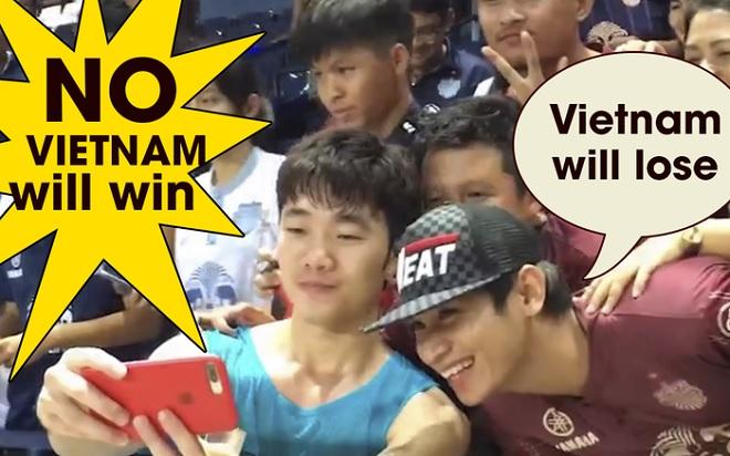 """Fan Thái hô """"Việt Nam thua Thái Lan"""", Xuân Trường rất """"tỉnh và đẹp trai"""": """"Chúng tôi sẽ thắng!"""""""