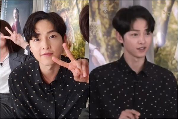 """Chỉ là đổi kiểu tóc mới Song Joong Ki lấy lại nhan sắc """"đỉnh cao"""" khiến ai nấy mê mệt"""