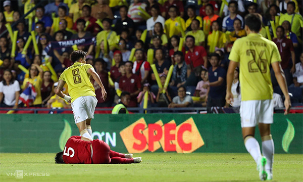 Ảnh 1: Thái Lan vẫn thua - We25.vn
