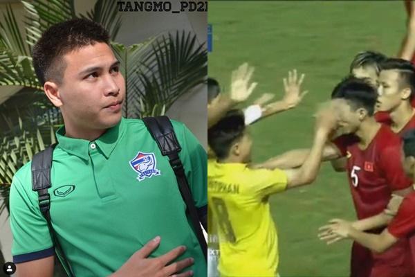 Chân dung cầu thủ Thái Lan tát trộm Văn Hậu trên sân: Mặt mũi sáng sủa mà thích đánh lén trong bóng râm