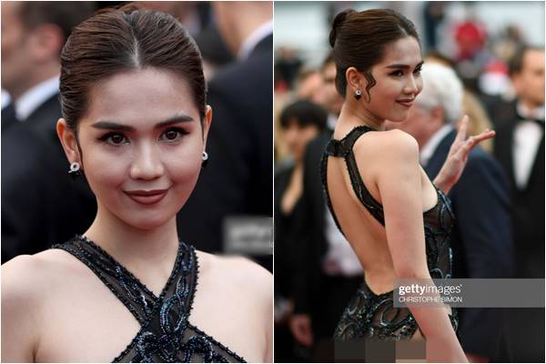 Ngọc Trinh đối diện với án phạt nặng nề từ Bộ Văn hóa vì chiếc đầm xuyên thấu ở Cannes