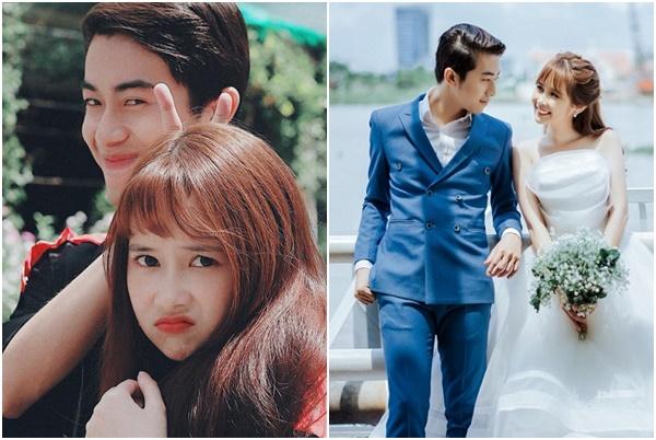 """Chuyện tình """"cọc già tìm trâu non"""" của hot girl Quỳnh Anh FAPtv và chàng thiếu gia Youtuber Cris Phan"""