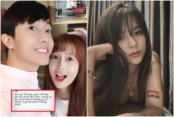 """Dòng status """"móc mỉa"""" của cô người yêu cũ khi Cris Phan tuyên bố kết hôn với hot girl FAPTV"""