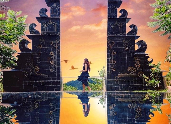"""Check-in liền tay """"Cổng trời Bali"""" phiên bản Đà Lạt mới toe đang chiếm sóng MXH"""