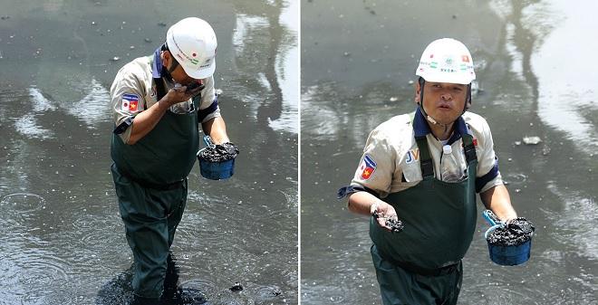Ngửi bùn và nước sông đen ngòm, tiến sĩ Nhật làm điều kỳ lạ giữa sông Tô Lịch là ai?