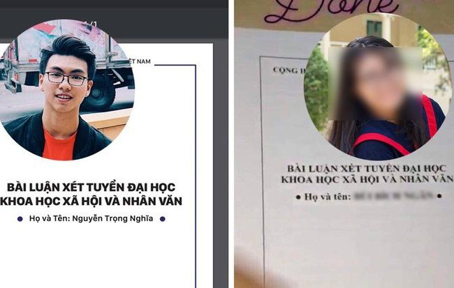 Nữ sinh bị tố đạo luận văn để được xét ưu tiên vào đại học, cãi không xong đành phải xin lỗi