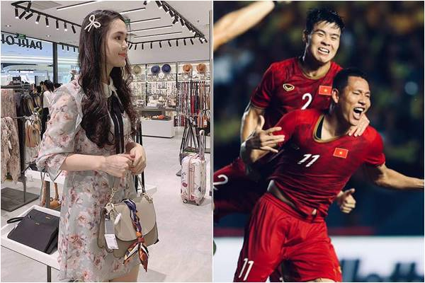 Việt Nam thắng Thái Lan, bạn gái Duy Mạnh lại được chú ý khi mua túi hiệu cả trăm triệu