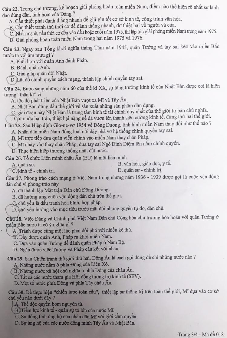 Ảnh 10: Đáp án chính thức toàn bộ môn thi vào lớp 10 - We25.vn