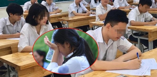 Sở GD&ĐT Quảng Bình cam kết hỗ trợ thí sinh quỳ khóc vì không biết lịch thi lại môn Ngữ văn