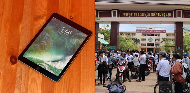 Thí sinh thi vào lớp 10 trường chuyên mang iPad vào phòng thi quay cóp và cái kết không thể coi thường quy chế