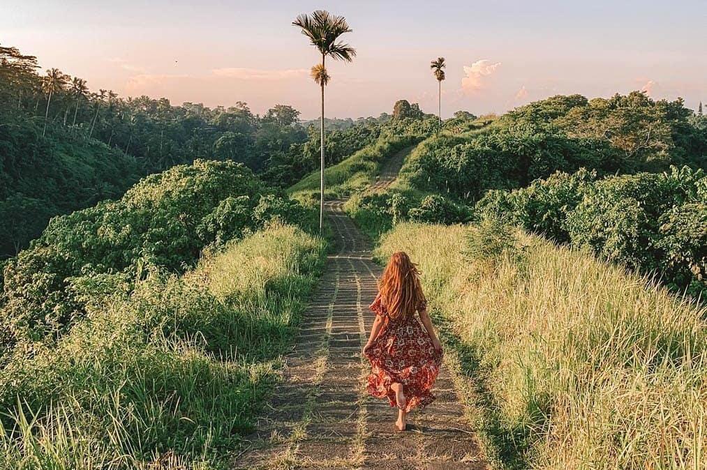 """Xác định tọa độ con đường mòn đẹp """"lồng lộn"""" ở Bali được các Travel bloger check-in ầm ầm"""