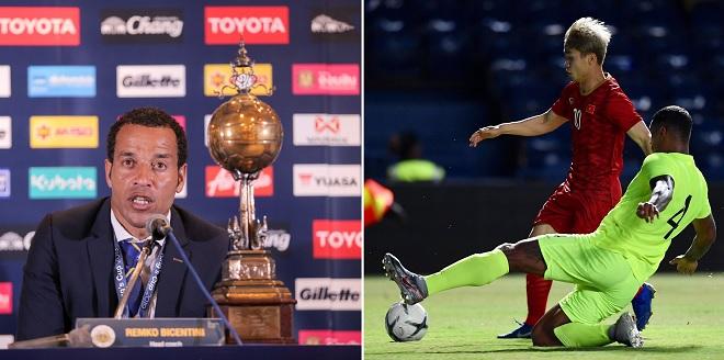 HLV Curacao phấn khích với ngôi vô địch King's Cup, thích nhất Công Phượng