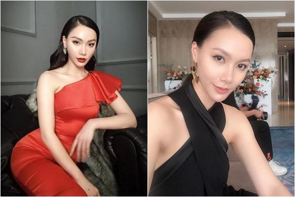 Quay đi ngoảnh lại, gương mặt của nữ MC Minh Hà cứ ngày một dài ra, nhọn hoắt đến sợ