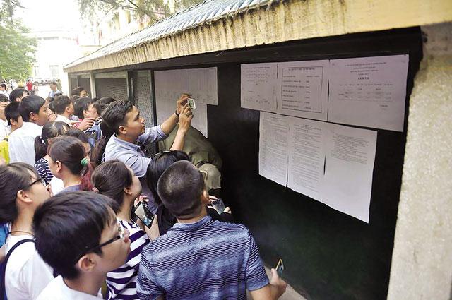 Ảnh 1: Công bố điểm thi vào lớp 10 - We25.vn