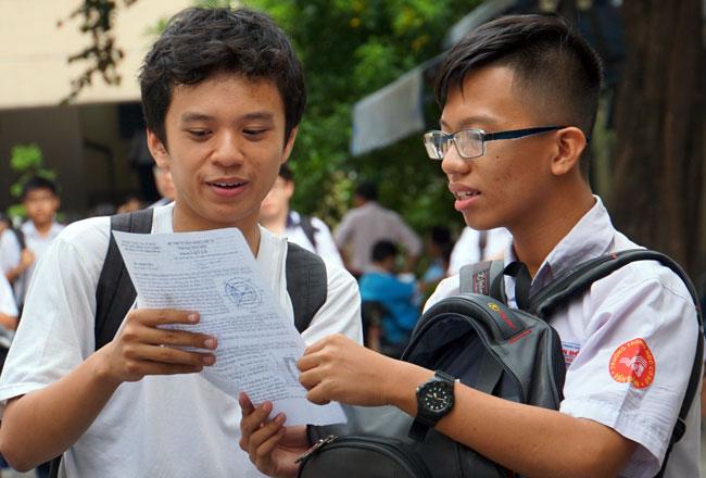 Ảnh 1: Điểm chuẩn trường Phổ thông Năng khiếu - We25.vn