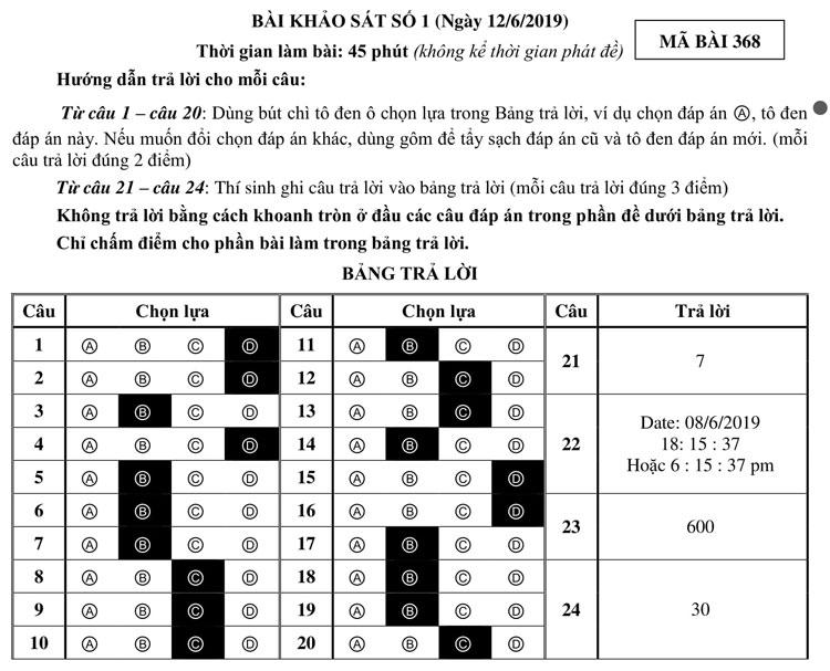 Ảnh 9: Đề thi lớp 6 - We25.vn