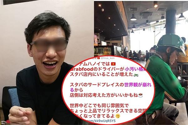 """CEO người Nhật bị """"ném đá"""" dữ dội vì khinh thường shipper Việt """"nhìn bẩn bẩn, làm mất không gian cao cấp của Starbucks"""""""