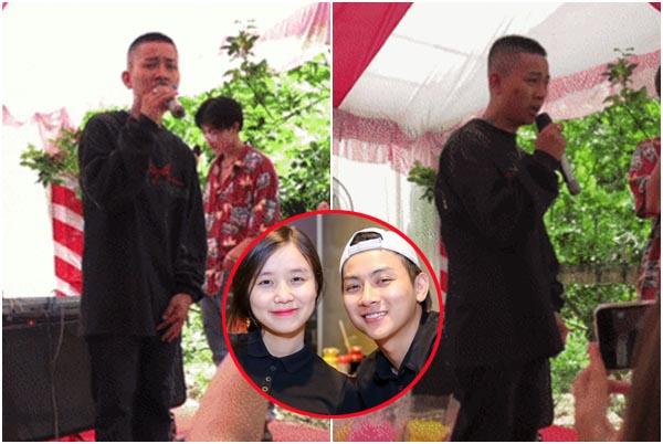 Giải nghệ vì bạn gái, Hoài Lâm lộ ảnh cạo đầu, quần áo luộm thuộm hát Bolero đám cưới?