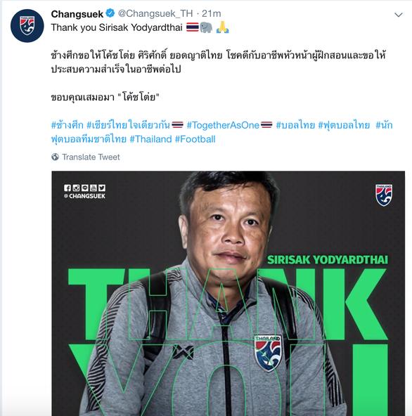 Ảnh 2: Thái Lan chia tay HLV trưởng - We25.vn