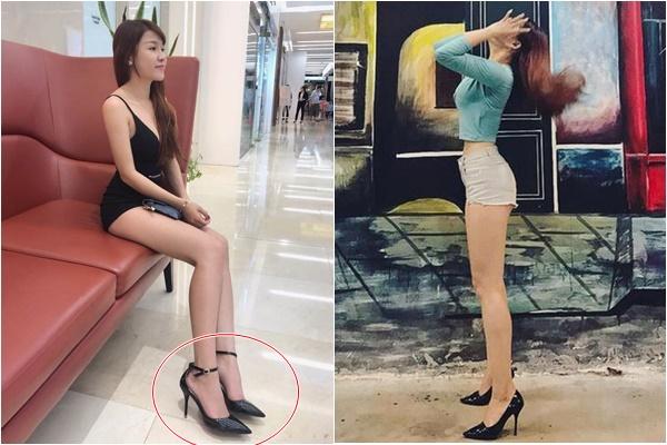 """Bạn gái Lâm Tây được phong huy hiệu """"thánh giày cao gót"""", không bao giờ đeo đôi dưới 10 cm"""