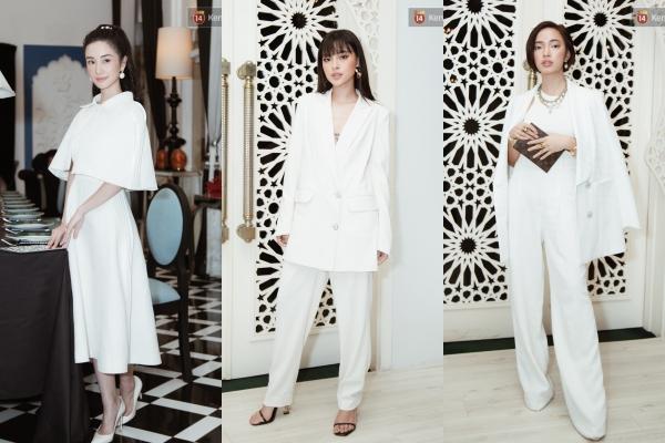 Khi 3 mỹ nhân thế hệ mới cùng diện đồ trắng trong 1 show diễn: Jun Vũ, Tú Hảo và Châu Bùi ai mới là người đẳng cấp nhất?