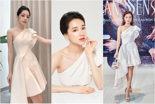 """Cùng diện """"váy quốc dân"""" mới, Nhã Phương, Chi Pu có lộng lẫy vẫn """"thua đậm"""" mỹ nhân U30 này"""
