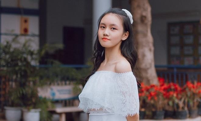 Cô bạn xinh xắn đỗ cả 3 lớp chuyên Toán, Lý và Hóa khi thi vào lớp 10 ở Hà Nội