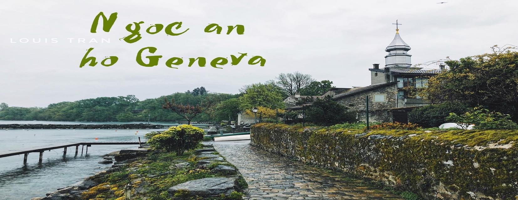 Checkin-Holic: Yvoire - Ngọc ẩn hồ Geneva- Lộc Trần