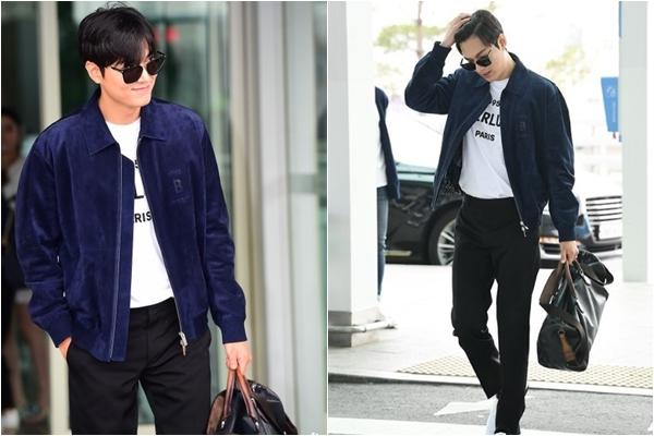 """Tái xuất sau nghĩa vụ quân sự, Lee Min Ho gây náo loạn sân bay vì vẻ ngoài """"bóng loáng"""""""