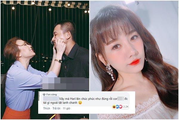 """Mỹ Tâm - Mai Tài Phến xuất hiện công khai mối quan hệ, Hari Won ăn """"gạch"""" vì tung tin đồn nhảm"""