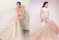 Mẫu váy cưới mới của Đàm Thu Trang vừa được hé lộ, nhưng nhìn phát liên tưởng ngay đến Hồ Ngọc Hà