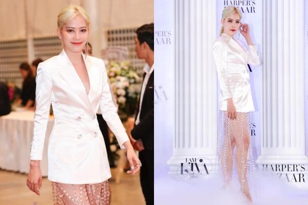 Ngắm trọn khoảnh khắc Nam Em leng keng chuông gió tại sự kiện thời trang của Thu Minh