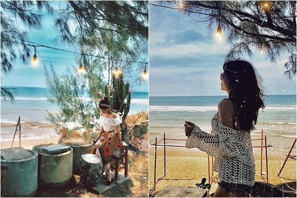 """Lùng ra quán cafe sát biển Quảng Bình khiến giới trẻ phát cuồng bởi độ """"chill"""" không tả"""