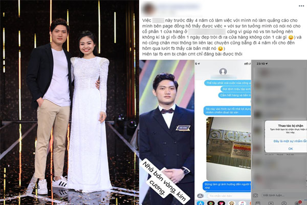"""""""Chàng trai tiệm vàng"""" kết đôi với diễn viên Lê Lộc trong """"Người ấy là ai"""" bị tố lừa đảo, ăn cắp, nói dối trên truyền hình?"""