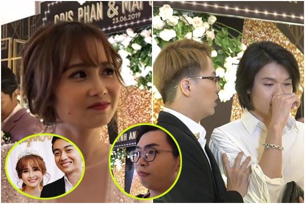 Góc phá đám: Hội người yêu cũ khóc mếu, làm loạn đám cưới Cris Phan, bị Quỳnh Anh xử đẹp
